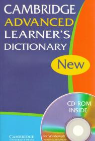 Cambridge Advanced Learner's Dictionary + CD-Rom