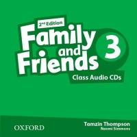 Family and Friends (2nd edition) 3 Class Audio CDs