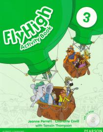 Fly High 3: Activity Book+CD