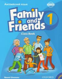 Family and Friends 1:Class Book обложка книги