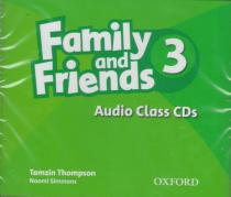 Family and Friends 3:Audio Class CDs