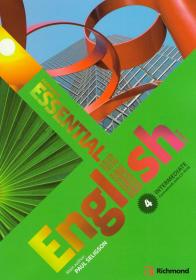 Essential English 4 Intermediate: Coursebook with CD-ROM