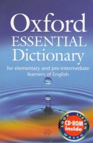 Oxford Essential Dictionary for elementary and pre-intermediate learners with CD-ROM