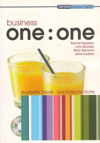 Business One:One Pre-Intermediate: Student's Book+Multy-Rom