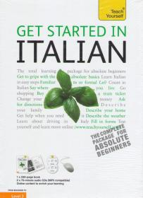 Get Started in Italian: Teach Yourself + CDs
