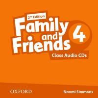 Family and Friends (2nd edition) 4 Class Audio CDs