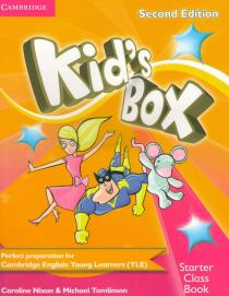 Kid's Box Starter 2nd Edition: Classbook with CD