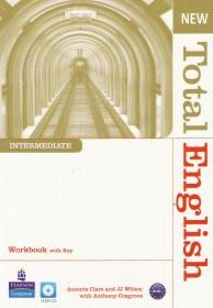 New Total English Intermediate: Workbook+Key+CD