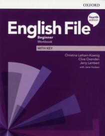English File 4th Edition Beginner Workbook with Key