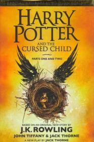 Harry Potter and The Cursed Child. Part One and Two. обложка книги