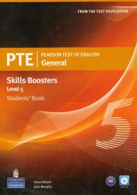 PTE General Skills Boosters Level 5: Student's Book+CD
