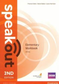 Speakout 2nd Edition Elementary Workbook with Key обложка книги