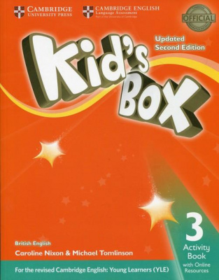 KID`S BOX 3. 2 ed. AB+ONLINE RES. Upd. Edition