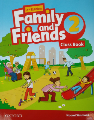 Family and Friends 2. Second Edition. Class Book with Student's Site обложка книги